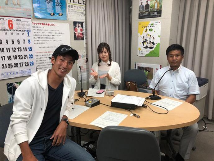 甲斐杏奈さん、GM柳田、奥田裕貴選手