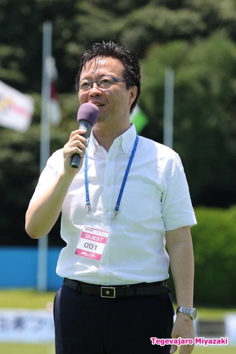 延岡市長 読谷山洋司様