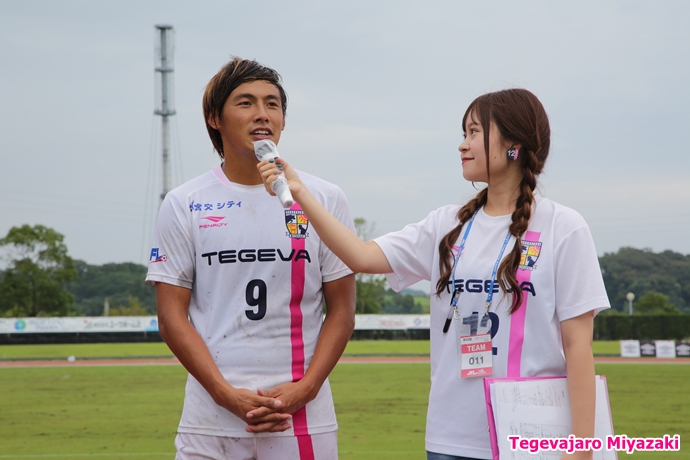 米澤選手、得点者インタビュー