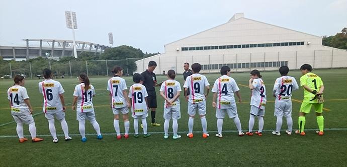 令和元年度MFA第37回皇后杯全日本女子サッカー選手権宮崎県大会 2回戦:円陣
