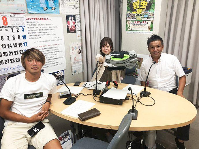 甲斐杏奈さん、GM柳田、米澤選手