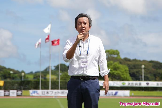株式会社テゲバジャーロ宮崎代表取締役会長小林稔
