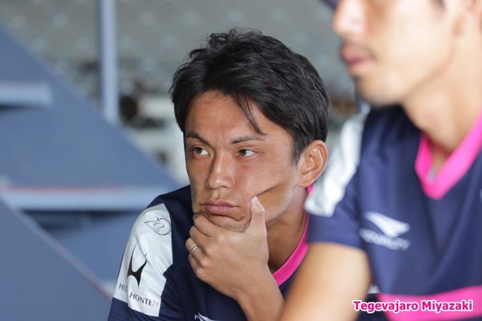 試合前ミーティング:小野寺選手