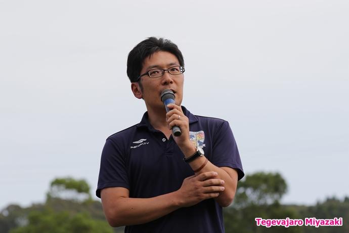 株式会社テゲバジャーロ宮崎代表取締役社長・二村