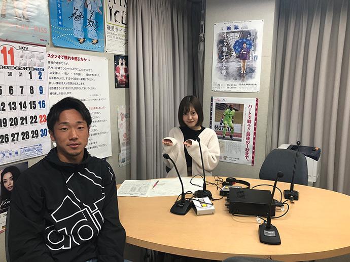 11/28:ゲスト青山生選手