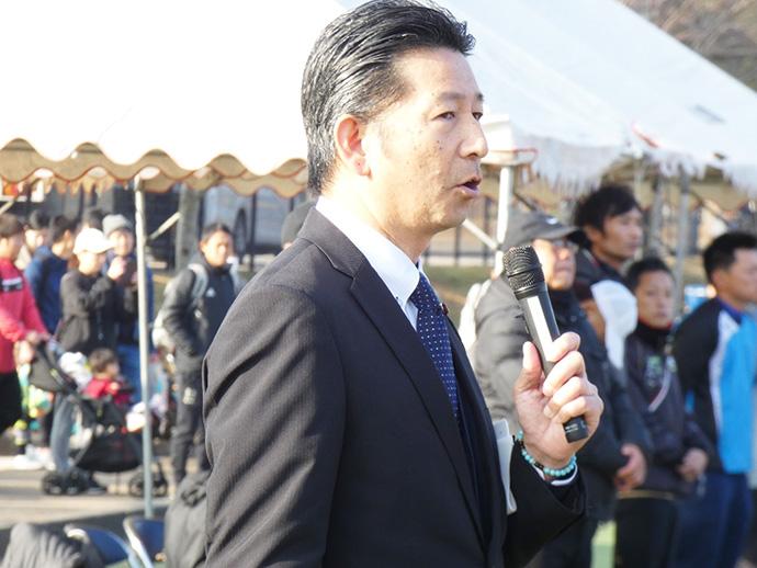 宮崎市サッカー協会会長  斉藤了介様