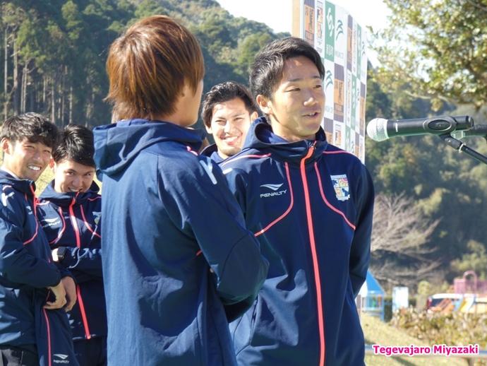 渡邊・青山選手