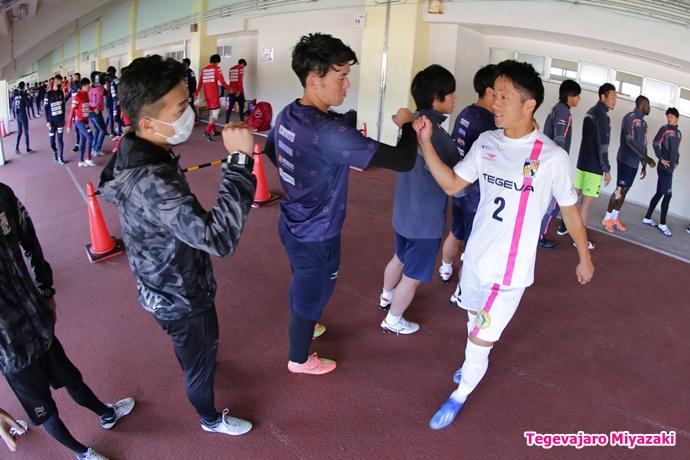 入場前:青山選手