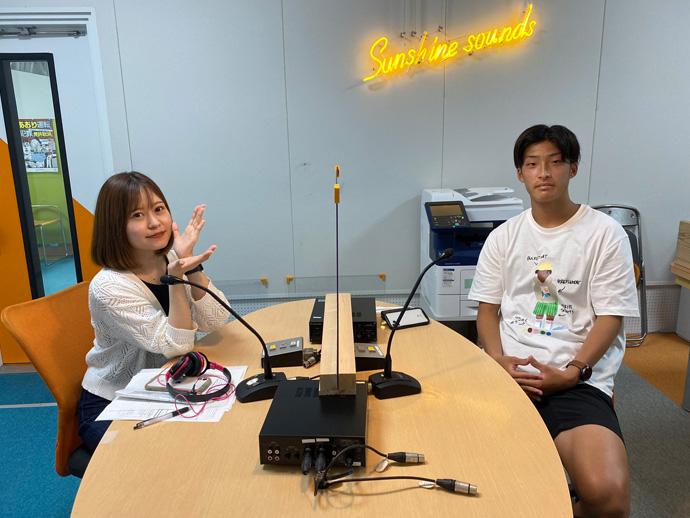 6月3日神野亮太選手ラジオ出演の様子